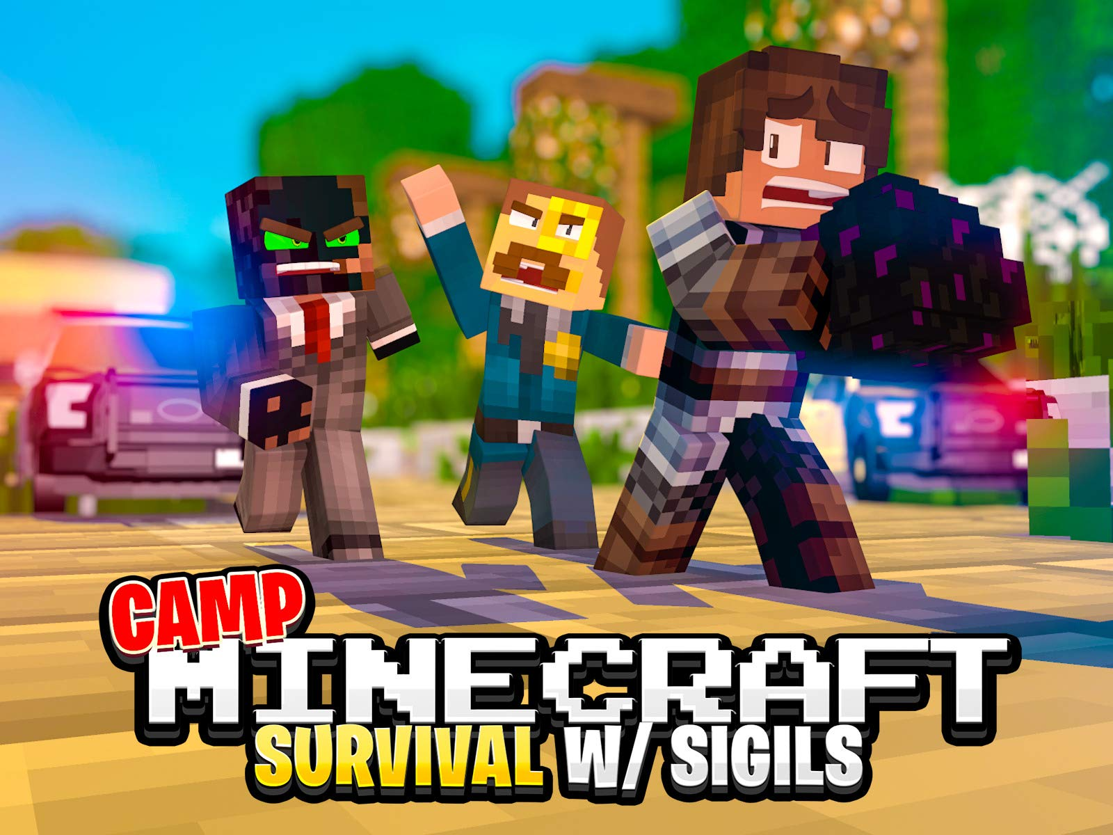 Watch Clip: Camp Minecraft Survival (Sigils)  Prime Video