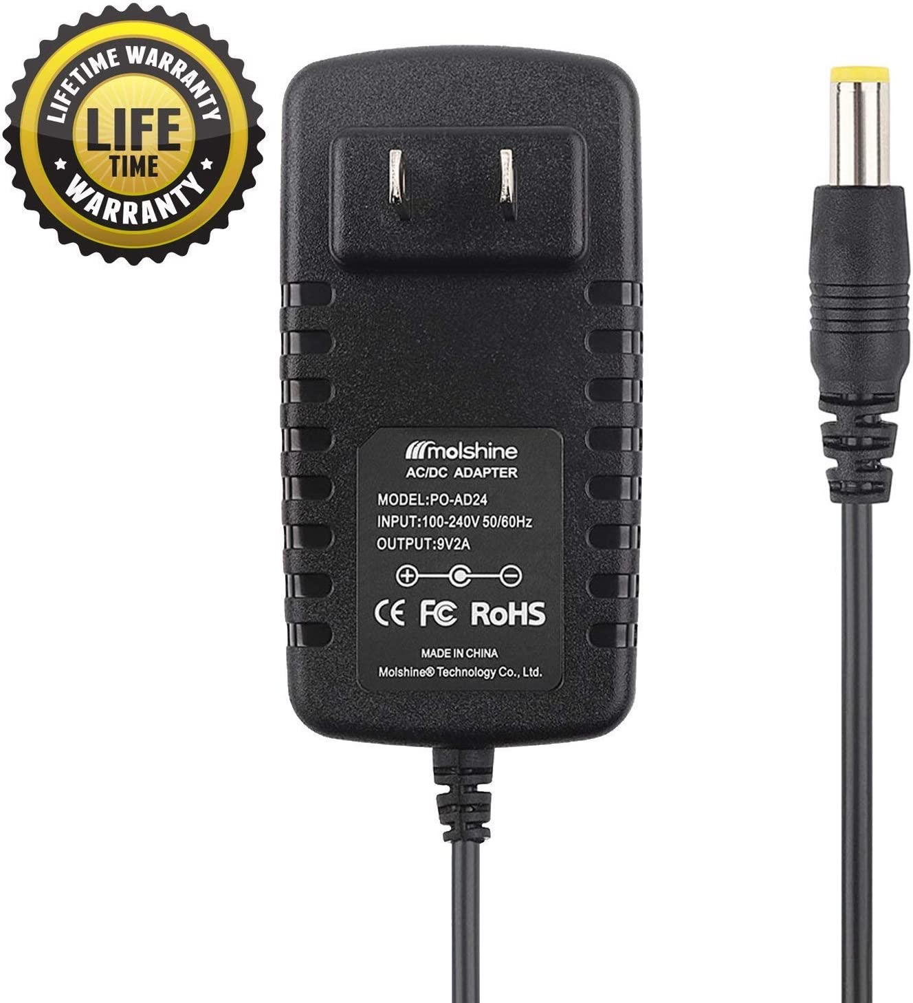 T-Power AC//DC Charger Supply FOR Brother AD-24 AD-24ES AD-20 or AD-30 P-Touch...
