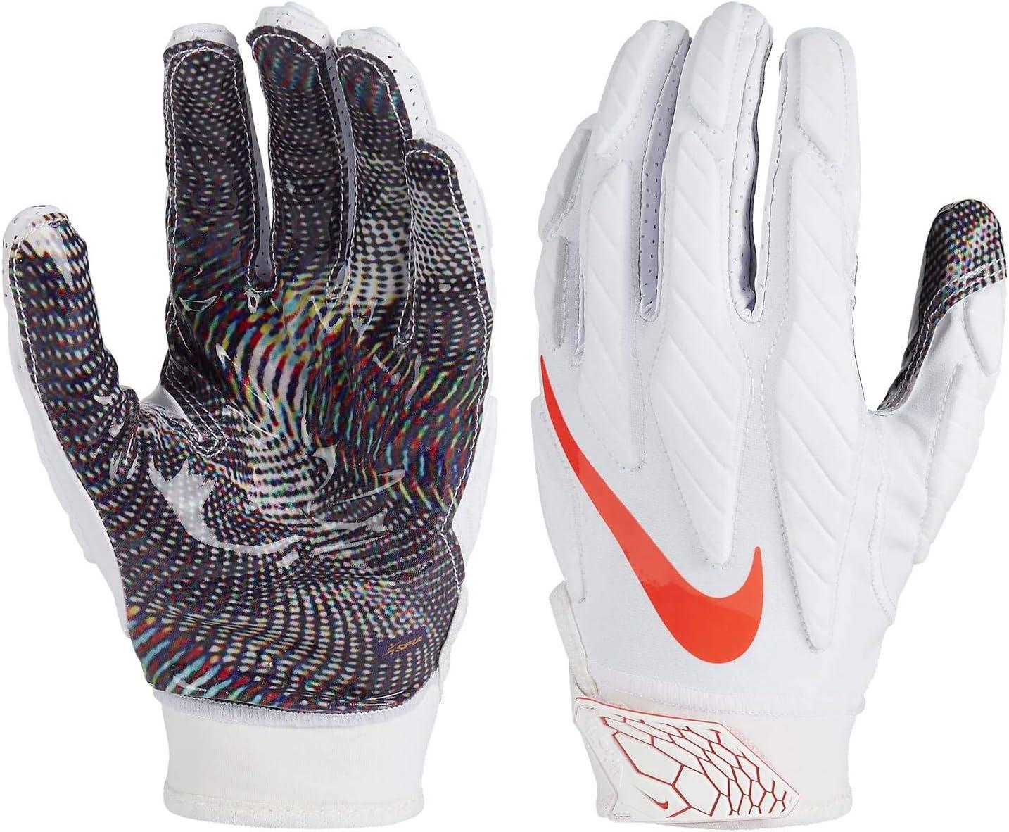 Vagabundo pintar desempleo  Amazon.com : Nike Superbad 5.0 Adult Football Gloves : Sports & Outdoors
