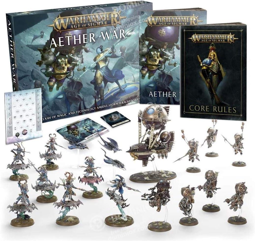 Games Workshop Warhammer Age of Sigmar: Juego de caja de guerra etérea: Amazon.es: Juguetes y juegos