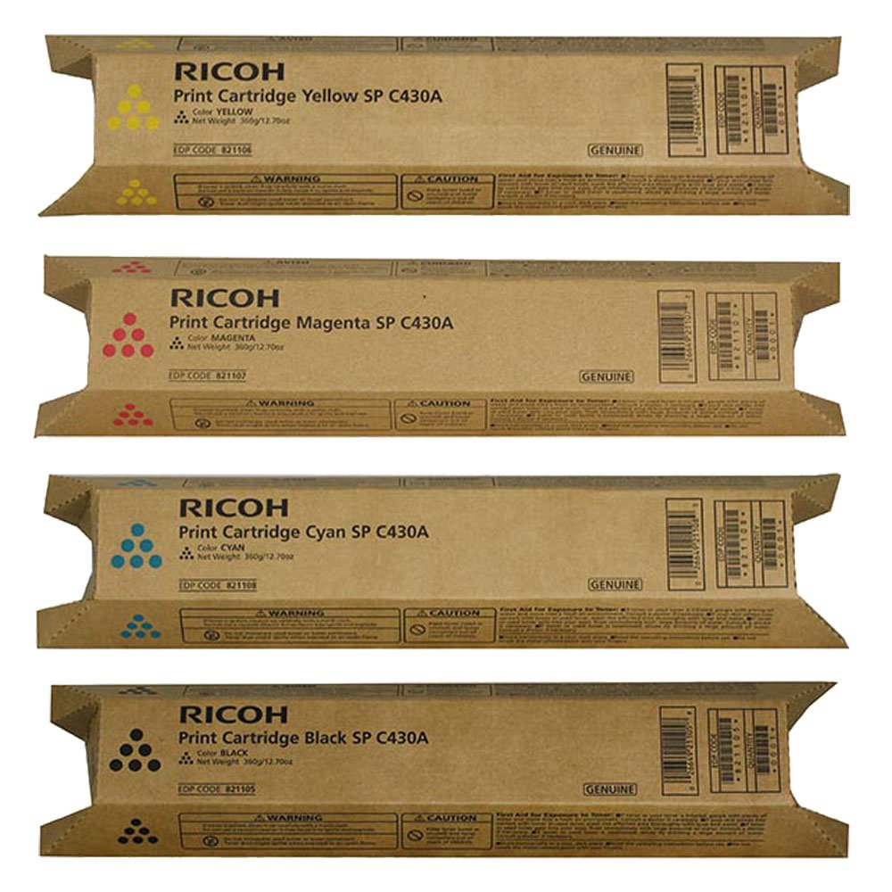 Genuine Ricoh 821105 SP C430A BLACK Toner 21000 Page Yield for SPC430DN