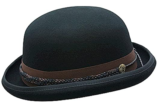 d43a926bf Conner Hats Men's Carson City Wool Bowler Hat