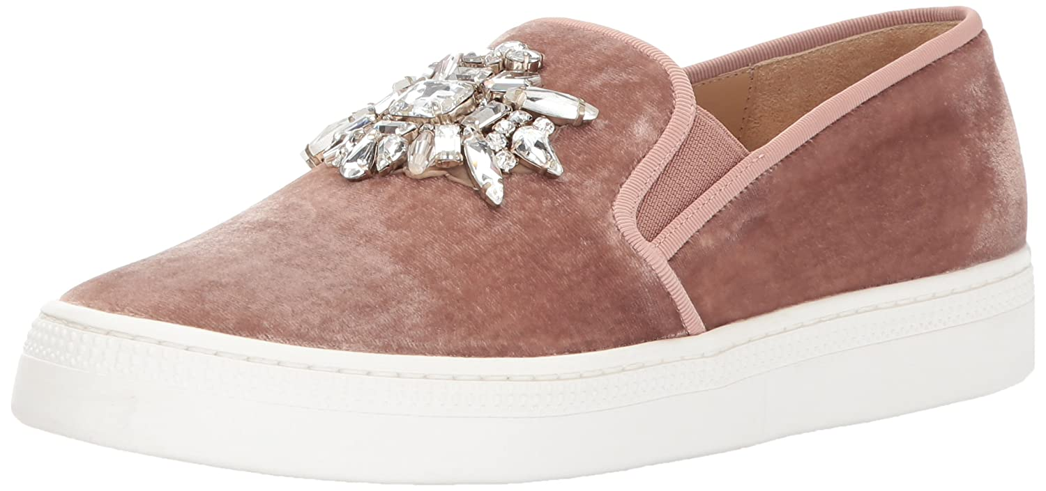 Badgley Mischka Women's Barre Sneaker B01NC2TFXU 6 B(M) US|Misty Rose Velvet