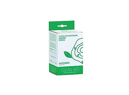 25 Toallitas monodosis de higiene íntima ALOE VERA