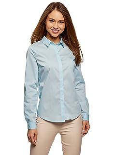 Camisa Básica Entallada Oodji Ultra Mujer vEw4Zt