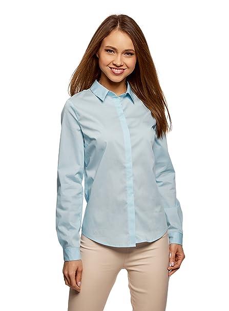 Oodji Ultra Donna Basic AderenteAmazon Camicia itAbbigliamento n0OwPk