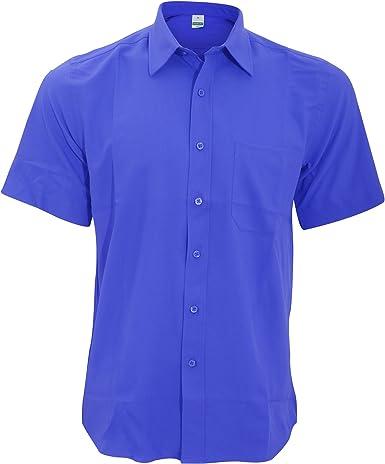Henbury Camisa Transpirable para trabajar de manga corta accion anti-bacterial Hombre/Caballero - Trabajo/Fiesta/Verano: Amazon.es: Ropa y accesorios