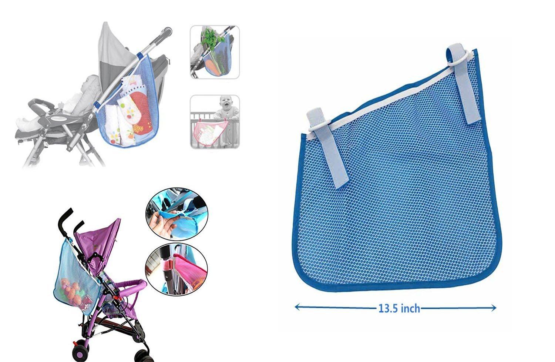 Housse de pluie pour poussette universelle et sac de rangement pour buggy HULISEN Housse de parapluie /étanche pour poussette de protection contre le vent et organiseur pour poussettes