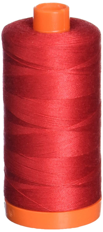 Aurifil A1050-2250 50 Weight Make Cotton Thread, 1422 yd, Red