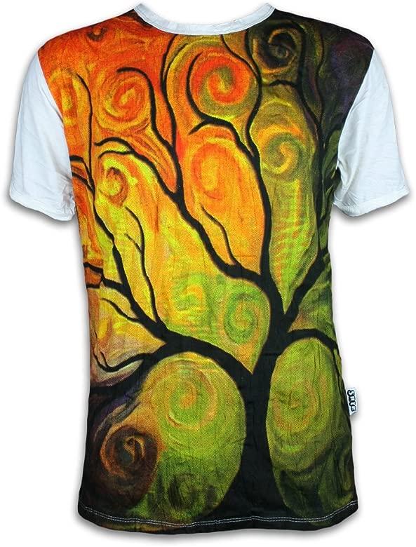 Sure Clothing Camiseta Hombre El Arbol de la Vida Talla M L ...