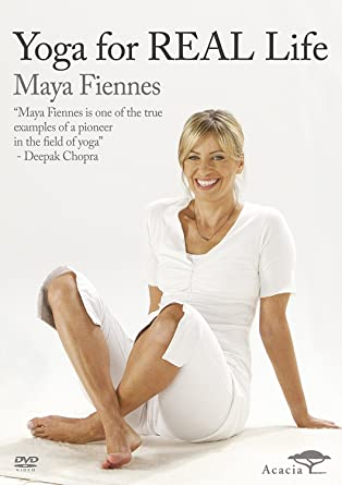 Maya Fiennes - Yoga for Real Life [DVD] [Reino Unido ...