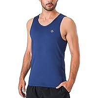 NAVISKIN Playera Deportiva sin Mangas para Hombre Tank Top Camiseta Atlética de Chándal Térmica Correr Deporte Running Fitness Entrenamiento