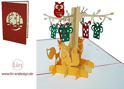Lin 17544 - Tarjetas de felicitación pop up 3d, tarjetas de ...