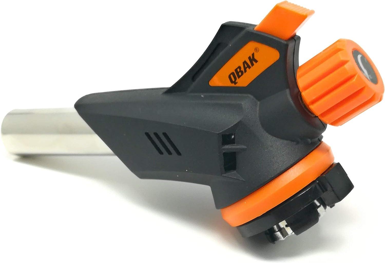 Qback - Cabezal Soplete de Gas con Adaptador - Soplete de ...