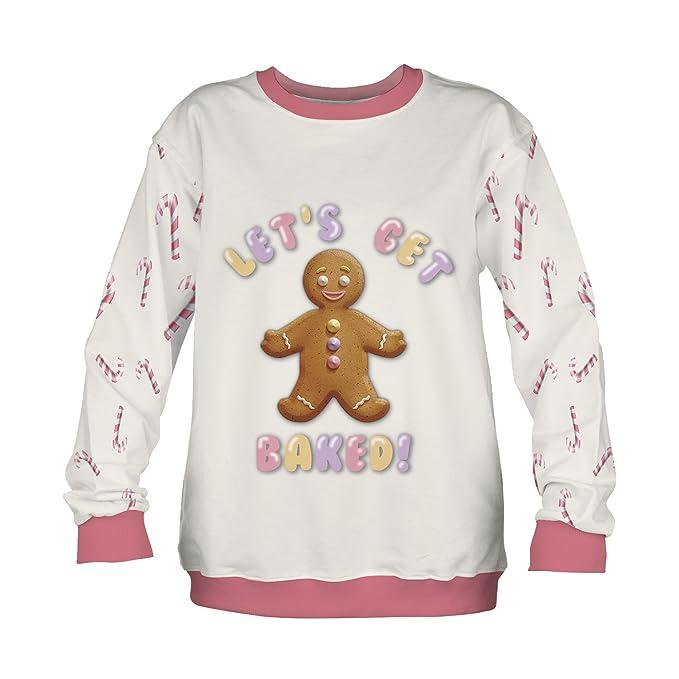 f9b4d733c Amazon.com  Fringoo Big Girls  Xmas Jumper Sweater Sweatshirt Ugly ...