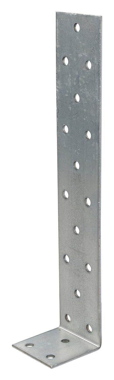 sendzimirverzinkt 205 x 40 x 40 mm 10 St/ück GAH-Alberts 333348 Flachstahl-Betonanker
