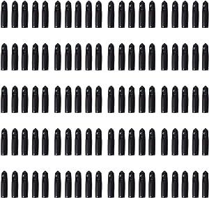 LEGERM 100 Pcs Liquor Bottle Pourer Cap Olive Oil Pour Spouts Rubber Dust Cover Caps Dust-Proof,Food-Safe