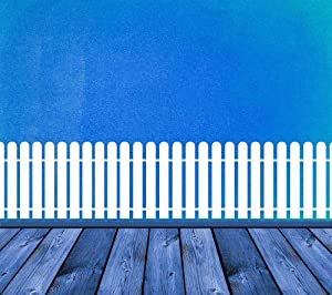 Picket Fence Picket Fence Decor Fence Art Fence Decor Wall Decal Rounded Top Sticker Vinyl Wall Home Nursery Art Day Care Decor and Stick Made in USA