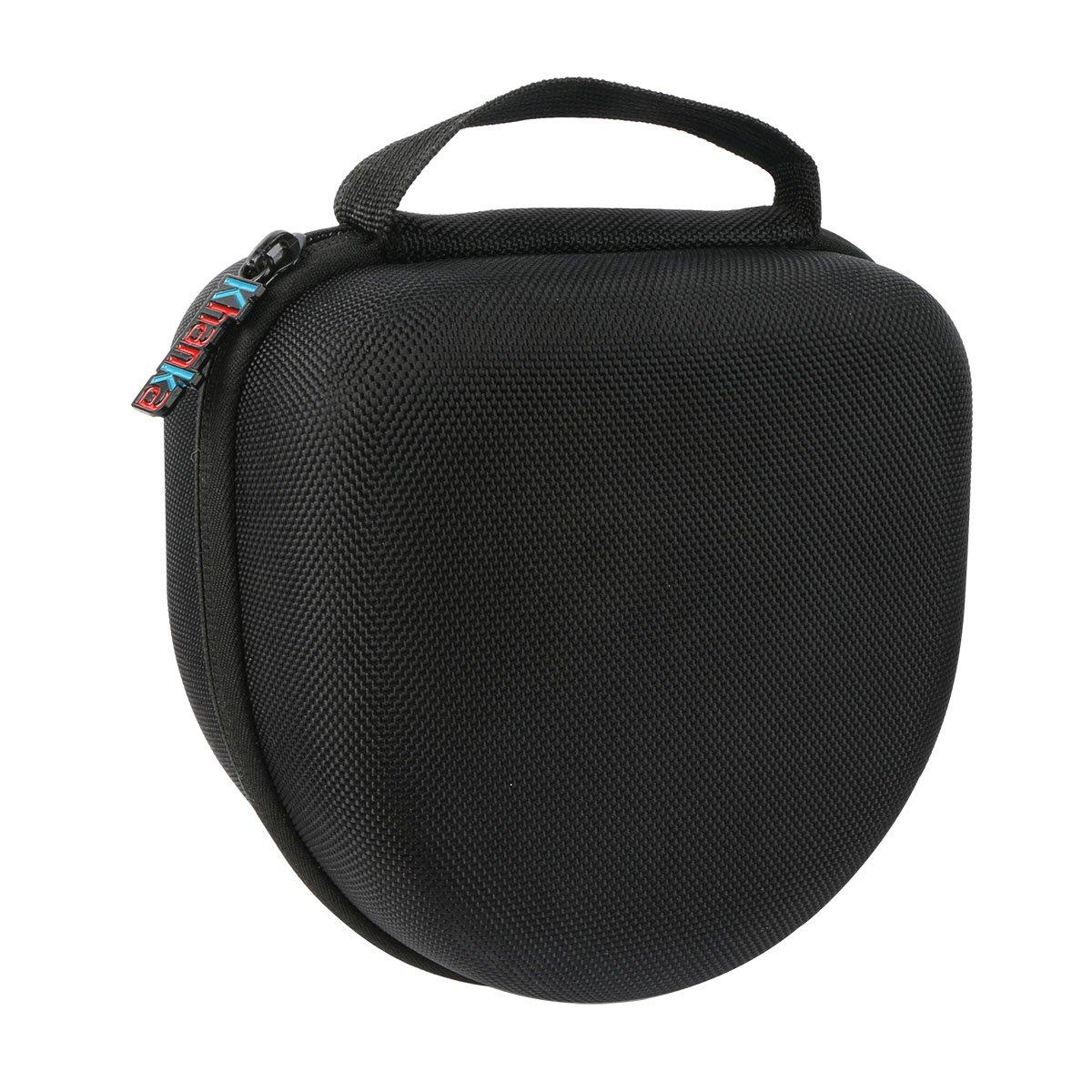 Khanka EVA Carrying Storage Travel Hard Case Cover Bag for Howard Leight Impact Sport OD Electric Folding Earmuff Ear Muffs and Howard Leight Genesis Glasses - Black
