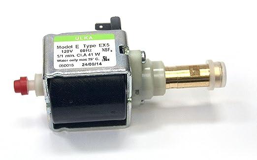 Ulka EX5 Vibratory Bomba - Dramáticamente aumentar la presión en ...