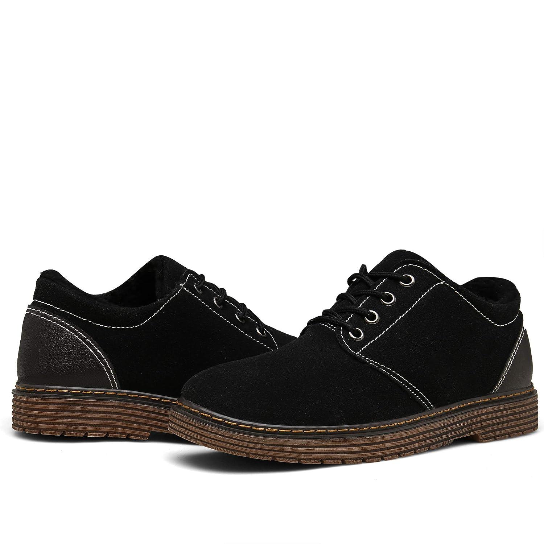 Bosleng Botines Hombre Mujer Zapatos Invierno Calientes Forradas ...