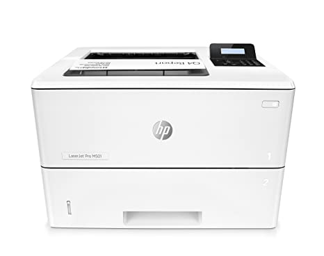 HP Laserjet Pro M501dn - Impresora láser Monocromo (A4, hasta 43 ppm, 1500 a 6000 páginas al Mes, USB 2.0 de Alta Velocidad, Fast Ethernet 10 ...