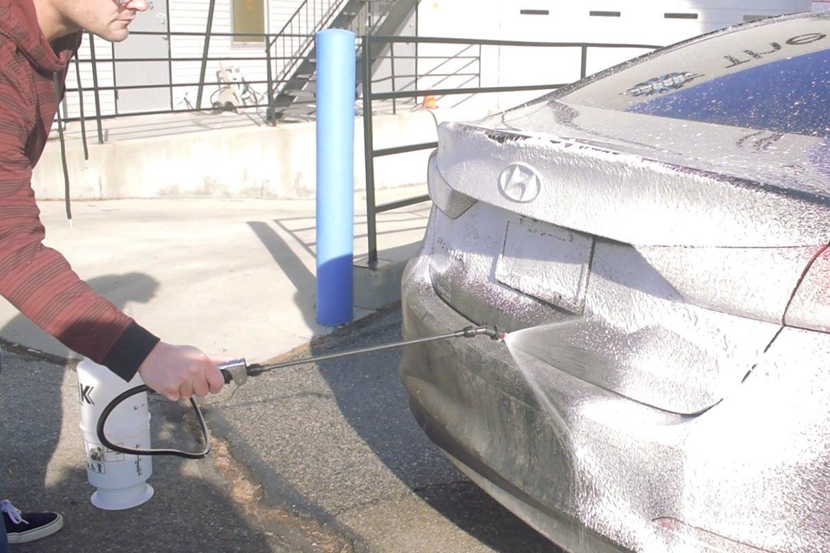 iK FOAM 9 LARGE PUMP SPRAYER | 1.3 Gallon | Professional Auto Detailing; Dry / Wet Foam Spray by Goizper Group IK Sprayers (Image #4)