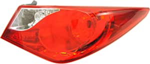 HYUNDAI Parts 92402-3Q000 Passenger Side Taillight Assembly Outer