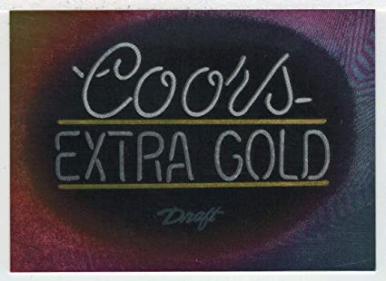 Coors Extra Gold >> Amazon Com Coors Extra Gold Coors Cards Trading Card