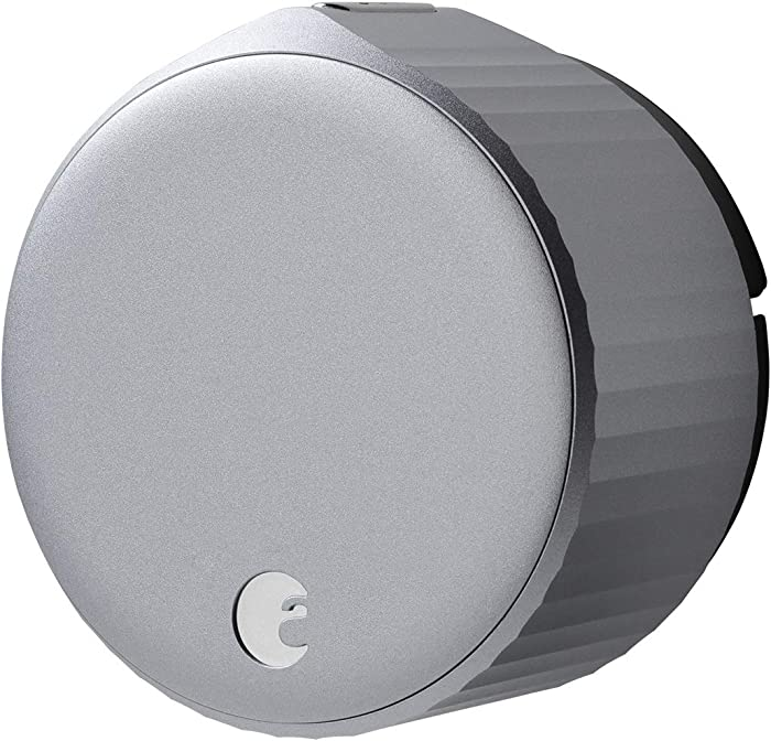 August Wi-Fi Smart Lock, 4th Generation (Silver)