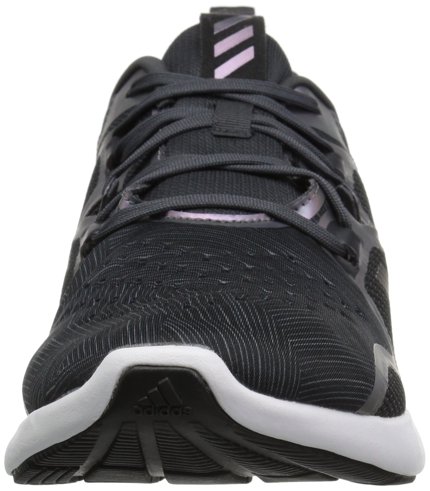 adidas Women's EdgeBounce Running Shoe Carbon/Black/Night Metallic 5.5 M US by adidas (Image #4)