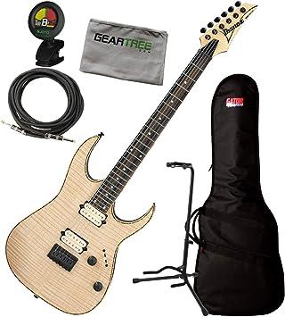 Ibanez RGEW521FM NTF Natural Flat RGEW FM Guitarra Eléctrica C/sintonizador, Cable, Bolsa,: Amazon.es: Instrumentos musicales