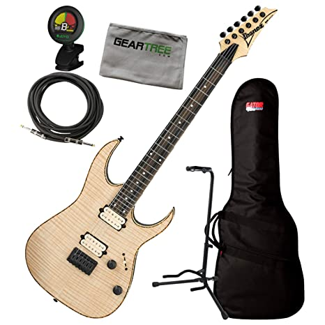 Ibanez RGEW521FM NTF Natural Flat RGEW FM Guitarra Eléctrica C ...