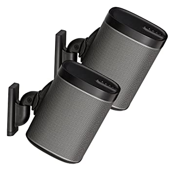 Sanus Wireless Speaker Wall Mounts for Sonos PLAY:1 /& PLAY:3 Tool Free Tilt...