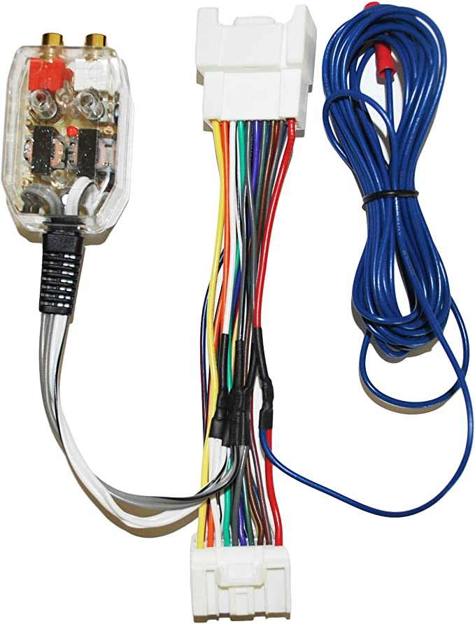 amazon.com: factory radio add a amp amplifier sub interface wire harness  inline converter: kitchen & dining  amazon.com