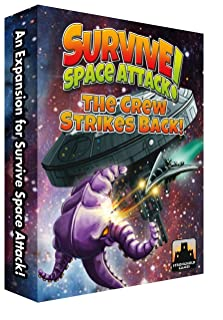 Stronghold Games Survive: Space Attack! The Crew Strikes Back! [Edizione: Germania]