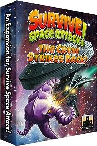 Survive: Space Attack! The Crew Strikes Back!: Amazon.es: Juguetes y juegos