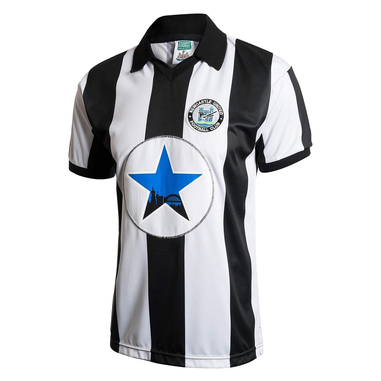 Newcastle United - Camiseta Retro Oficial de 1982 del Newcastle ...