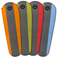 Self Inflating Sleeping Pad - Sleep Comfortably In The Outdoors - Camping Gear and Accessories For Hiking, Backpacking, Travel - Lightweight and Compact Camping Mat by Rugged Camp