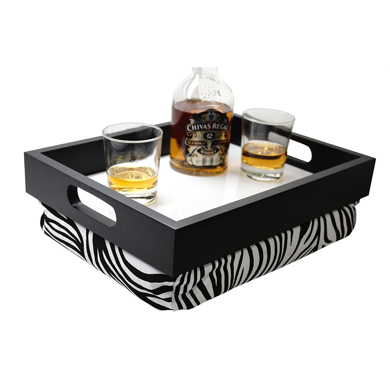 Delightful Amazon.com: WELLAND Multi Tasking Laptop Breakfast Serving Bed Tray  (Handles Zebra): Kitchen U0026 Dining