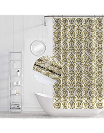8ba18b05ea7 Funria Shower Curtain Bathroom Curtains Waterproof Mildew Resistant Mold  Resistant Antibacterial Bath Curtains with Hooks Bathroom