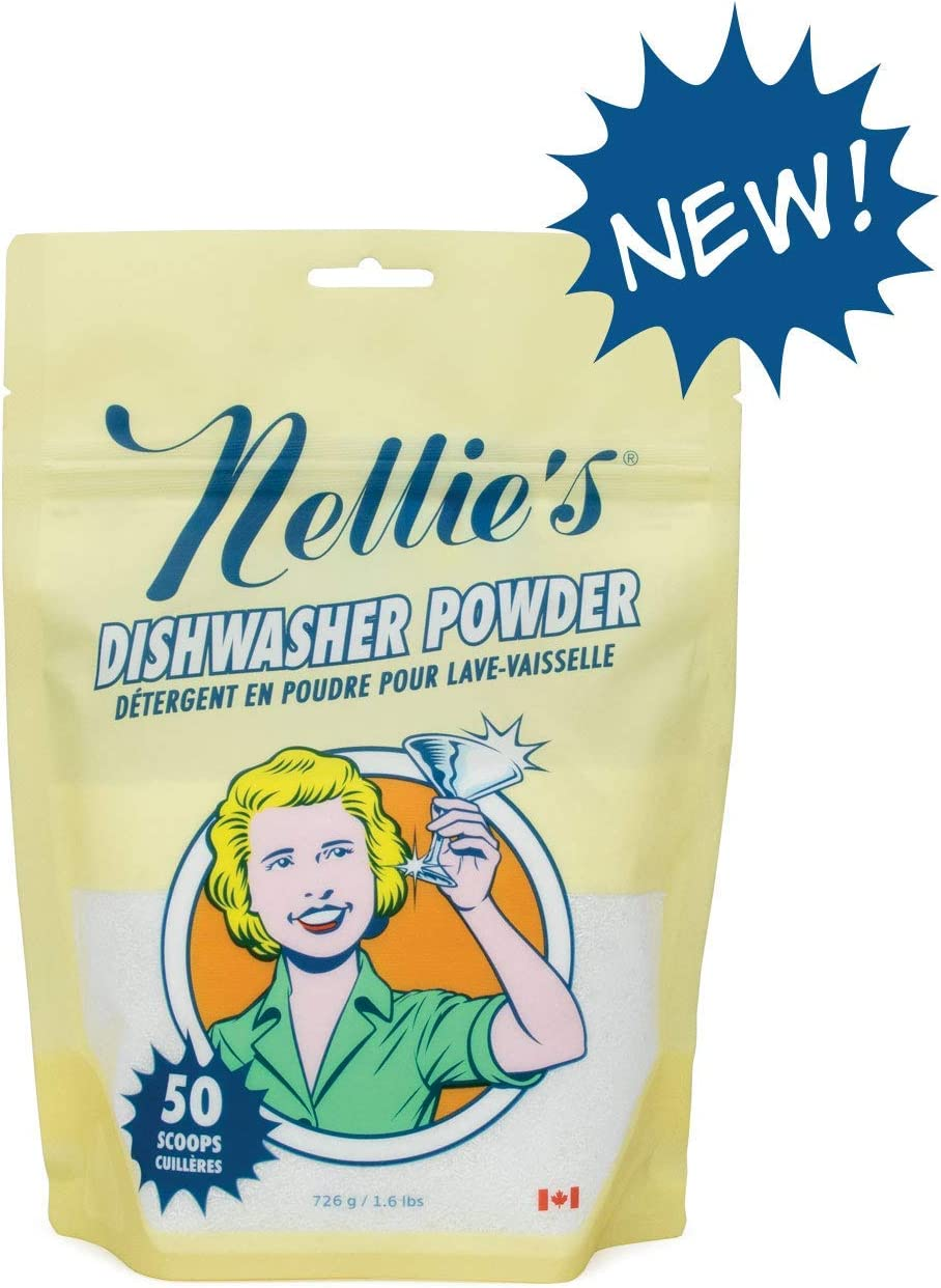 Nellie's Dishwasher Powder- 50 Scoops