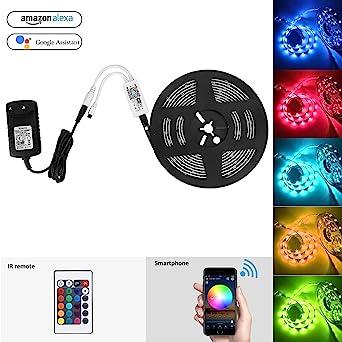 Led Streifen Set Wifi Strip Smart Rgb Led Strip Lichtleiste