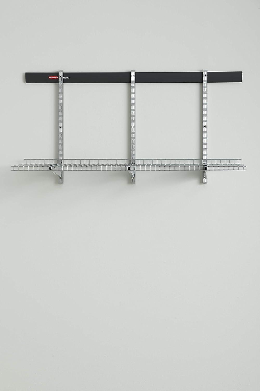 Rubbermaid Fasttrack Shelves, Kit, Black