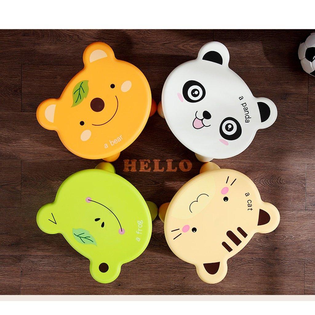 Duzhengzhou Footstool - Children's Stools Living Room Adult Plastic Cartoon Animals Cute Small Bench (Color : Frog) by Duzhengzhou (Image #7)