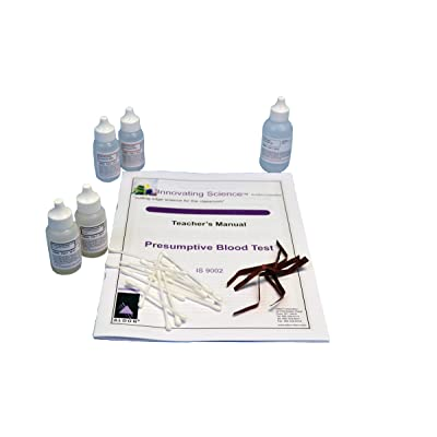 Forensic Chemistry: Presumptive Blood Test Kit - Materials for 30 Tests: Industrial & Scientific