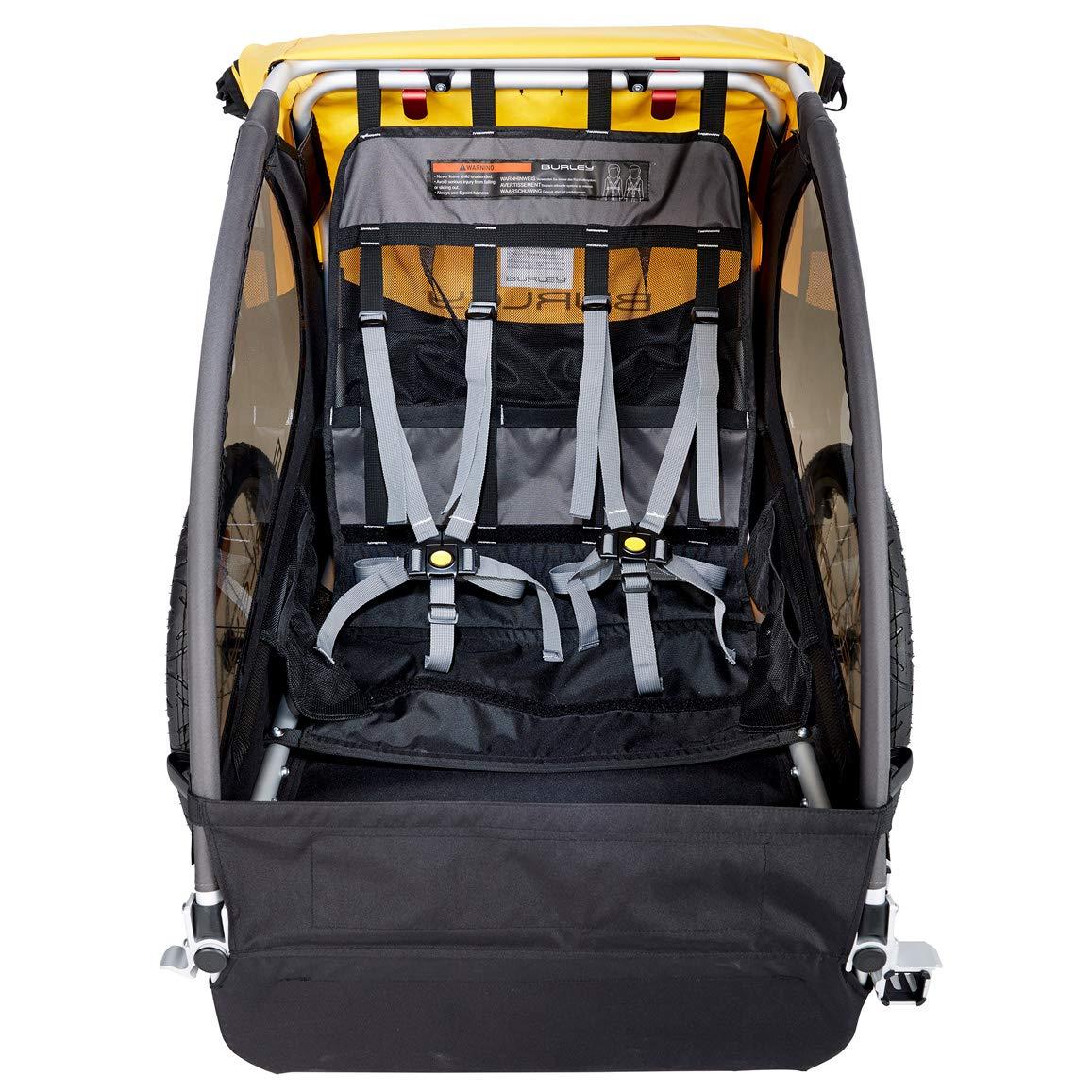 e94aa156c0 Amazon.com : Burley Bee, 2 Seat Kids Bike Trailer : Sports & Outdoors