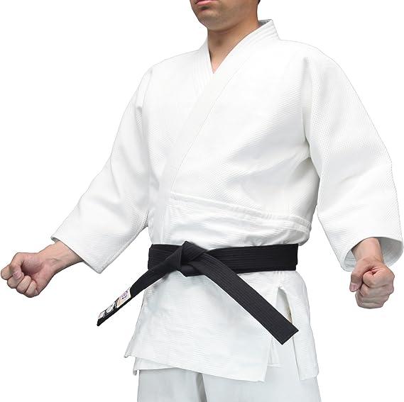 Aikido Obi Black Belt Made in Japan by Tozando Martial Arts