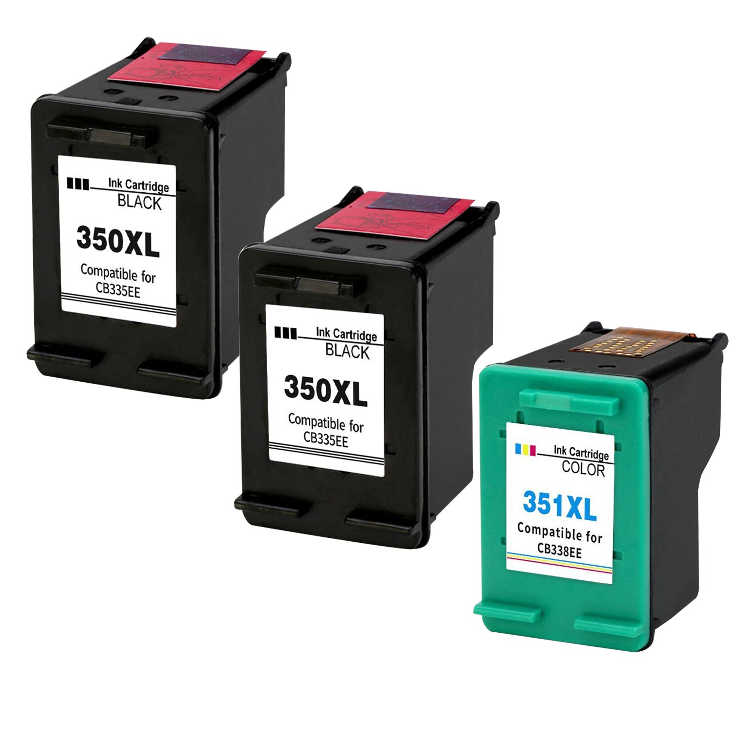 Kyansin Remanufactured 350XL 351XL Ink Cartridges Replacement for ...