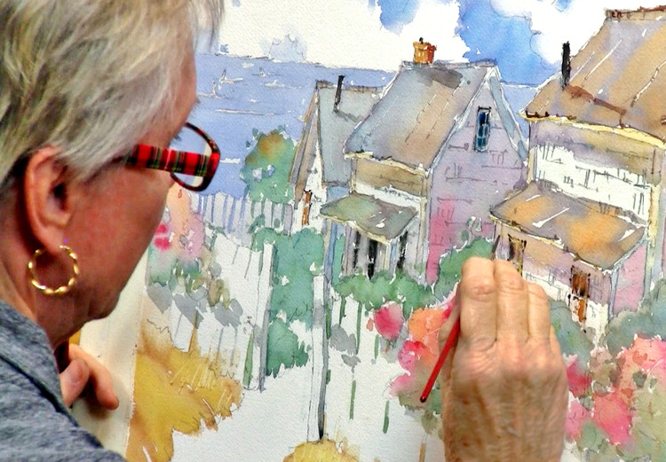 Painting Beautiful Watercolor Landscapes: Transform ordinary ...